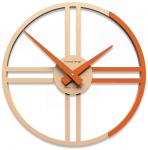 Designové hodiny 10-016 CalleaDesign Gaston 35cm (více barevných verzí) Barva růžová lastura (nejsvětlejší) - 31 164035
