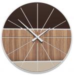 Designové hodiny 10-214 CalleaDesign Benjamin 60cm (více barevných verzí) Design wenge - 89 164192