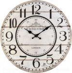 Designové nástěnné hodiny 21455 Lowell  34cm 164293