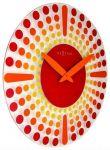 Designové nástěnné hodiny 8182ro Nextime Dreamtime 43cm 164329