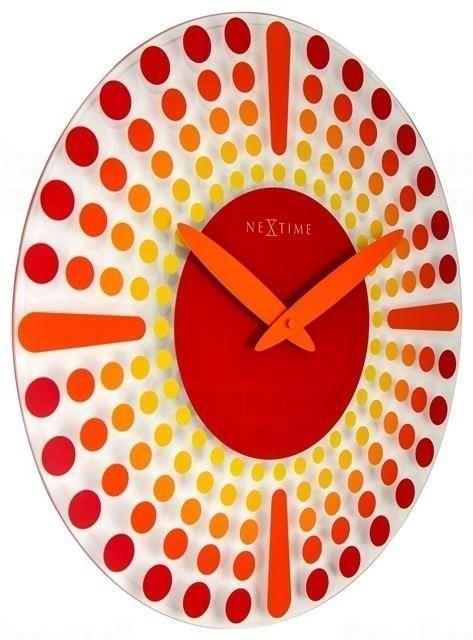 NeXtime Designové nástěnné hodiny 8182ro Nextime Dreamtime 43cm 164329