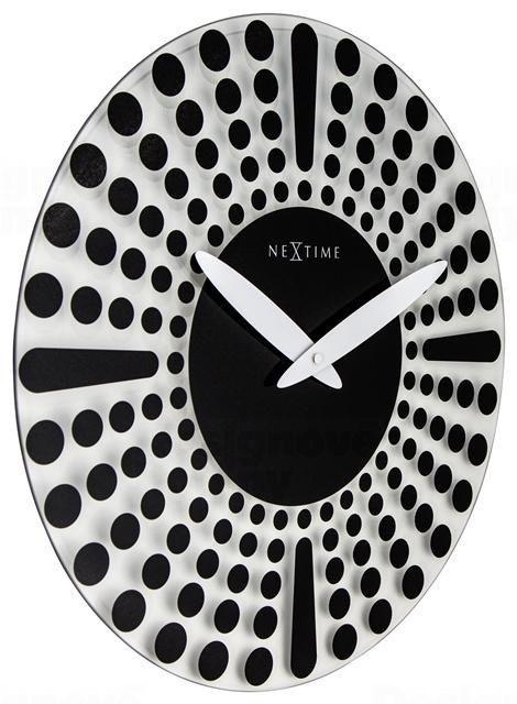 NeXtime Designové nástěnné hodiny 8182zw Nextime Dreamtime 43cm 164330