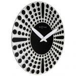 Hodiny na zeď Designové nástěnné hodiny 8182zw Nextime Dreamtime 43cm 164330 Designové hodiny