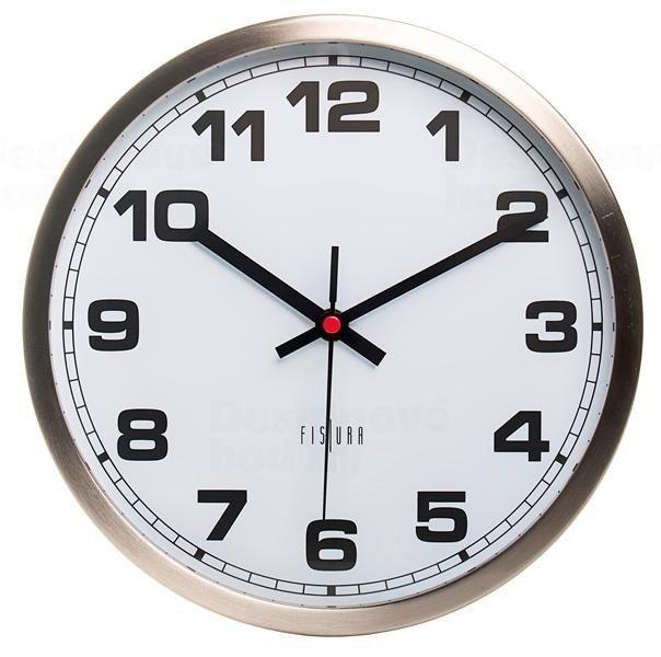 Designové nástěnné hodiny CL0061 Fisura 30cm 164351
