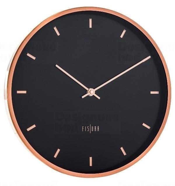 Designové nástěnné hodiny CL0062 Fisura 30cm 164352