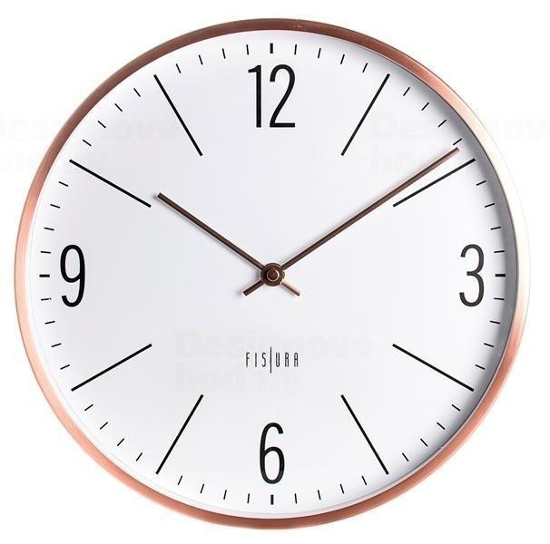 Designové nástěnné hodiny CL0063 Fisura 30cm 164353
