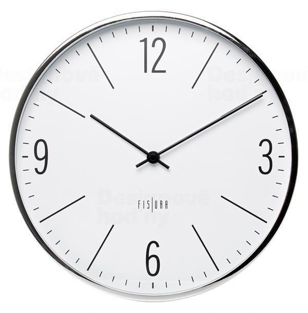 Designové nástěnné hodiny CL0064 Fisura 30cm 164354