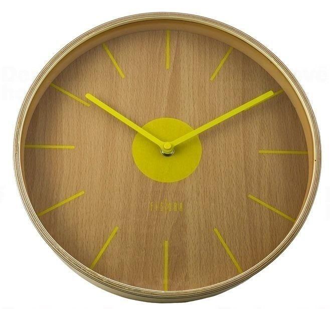 Designové nástěnné hodiny CL0065 Fisura 30cm 164355