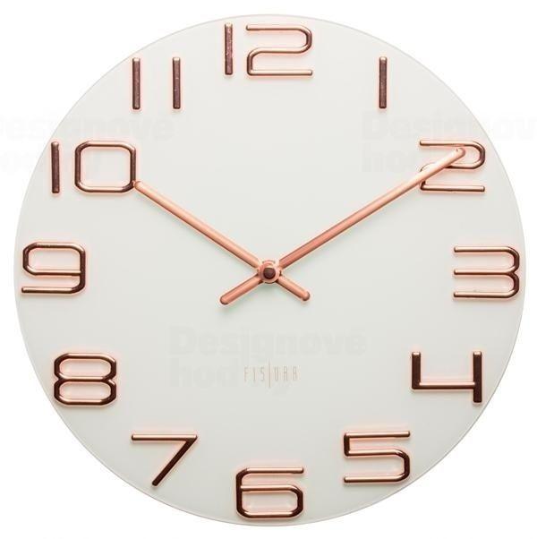 Designové nástěnné hodiny CL0066 Fisura 30cm 164356