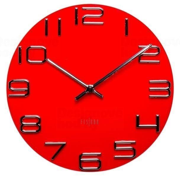 Designové nástěnné hodiny CL0068 Fisura 30cm 164357