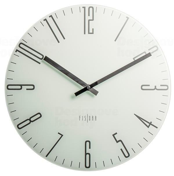 Hodiny na zeď Designové nástěnné hodiny CL0070 Fisura 35cm 164359 Designové hodiny