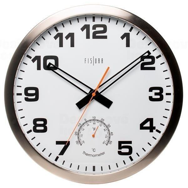 Designové nástěnné hodiny CL0072 Fisura 40cm 164360