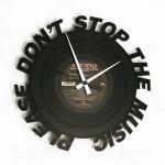 Designové nástěnné hodiny Discoclock 084 Dont Stop Music 30cm 164276