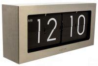 Designové nástěnné/stolní hodiny 5198zi Nextime Big Flip 36cm 164328