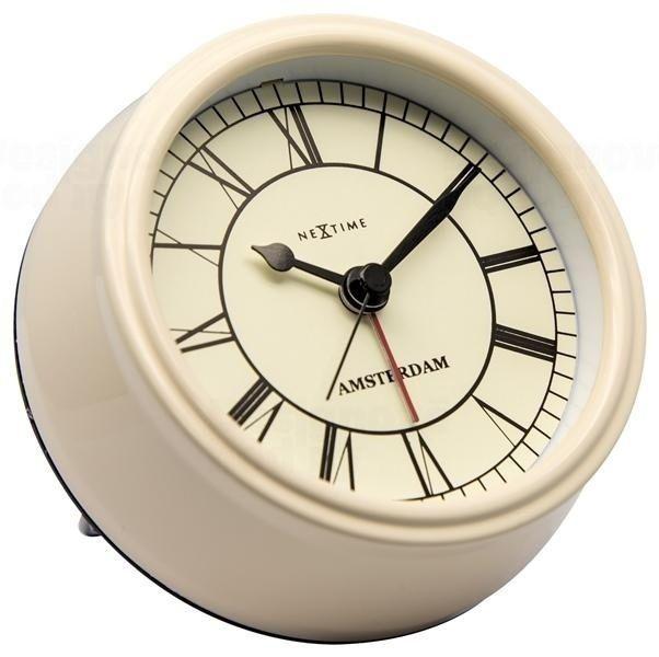 NeXtime Designové stolní hodiny 5199cr Nextime Small Amsterdam 11cm 164310