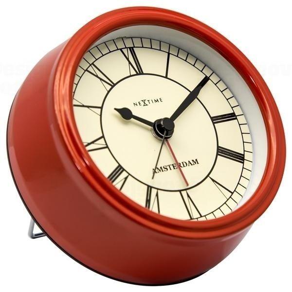 NeXtime Designové stolní hodiny 5199ro Nextime Small Amsterdam 11cm 164312