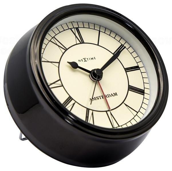 NeXtime Designové stolní hodiny 5199zw Nextime Small Amsterdam 11cm 164311