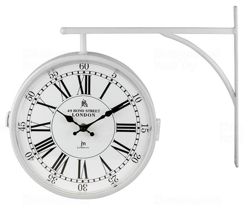 Lowell Italy Oboustranné nástěnné hodiny 14755 Lowell 24cm 164346