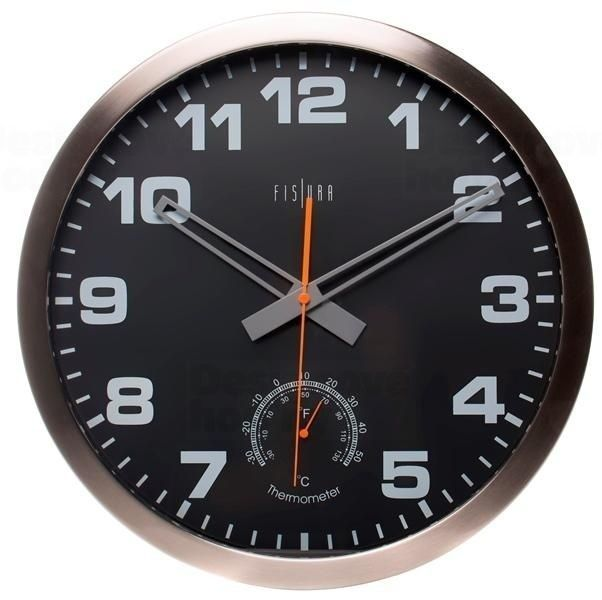 Designové nástěnné hodiny CL0073 Fisura 40cm 164361