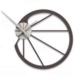 Designové hodiny 10-118 CalleaDesign Snail 45cm (více barevných verzí) Barva čokoládová - 69 164468