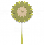 Designové hodiny 11-009 CalleaDesign Flip 45cm (více barevných verzí) Barva caffelatte - 14 164477