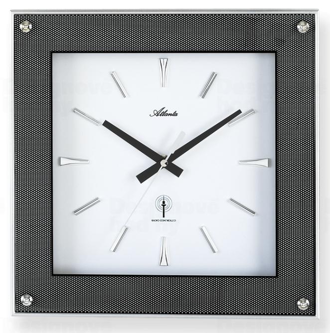 Atlanta Designové nástěnné hodiny AT4391 řízené signálem DCF 164620