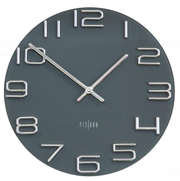 Designové nástěnné hodiny CL0287 Fisura 30cm 164646
