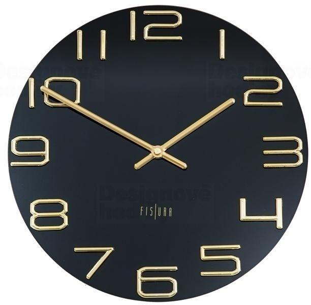 Designové nástěnné hodiny CL0289 Fisura 30cm 164644