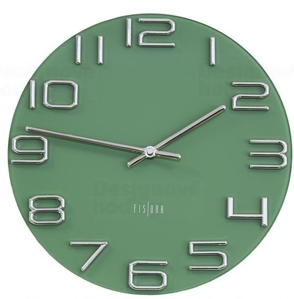 Designové nástěnné hodiny CL0290 Fisura 30cm 164645