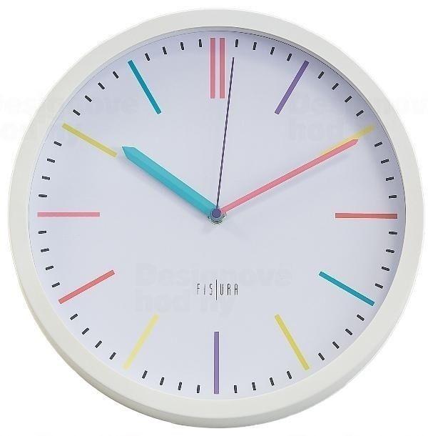 Designové nástěnné hodiny CL0294 Fisura 30cm 164650