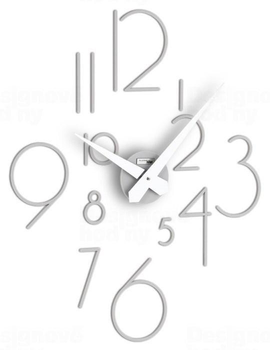 Designové nástěnné nalepovací hodiny I210GR IncantesimoDesign 59cm 164583