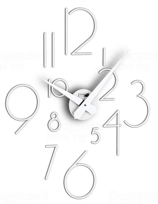 Designové nástěnné nalepovací hodiny I211BN IncantesimoDesign 85cm 164586