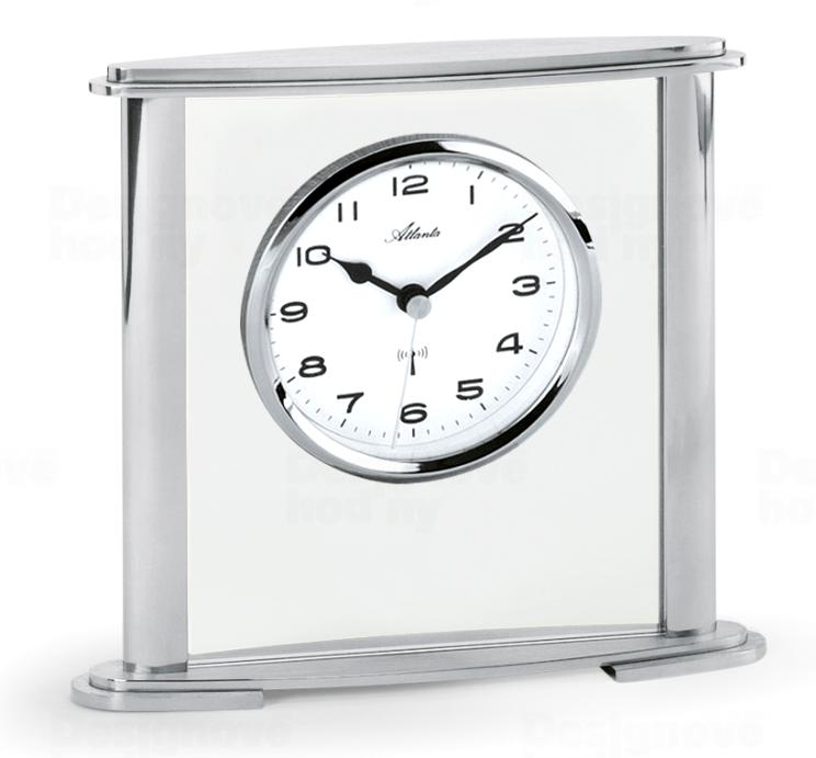 Atlanta Designové stolní hodiny AT3092-19 řízené signálem DCF 164593