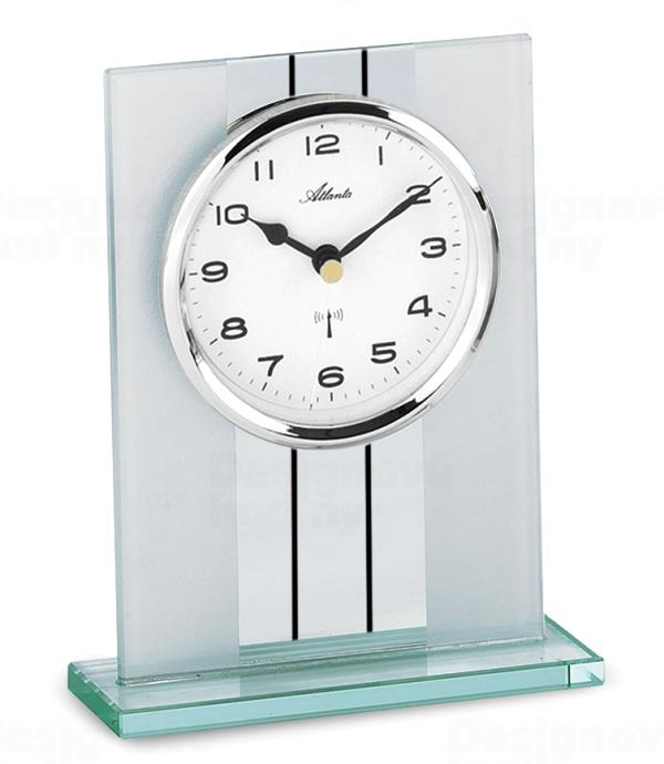 Atlanta Designové stolní hodiny AT3093-19 řízené signálem DCF 164595