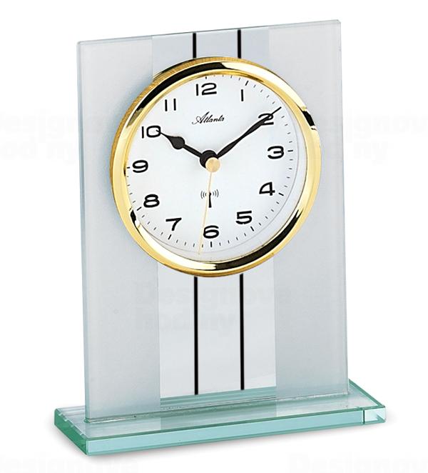 Atlanta Designové stolní hodiny AT3093-9 řízené signálem DCF 164594