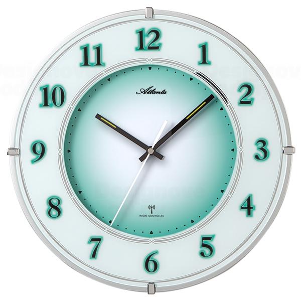 Atlanta Nástěnné hodiny AT4299 s nočním automatickým LED podsvětlením řízené signálem DCF 164613