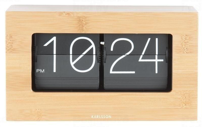 Designové stolní překlápěcí hodiny 5620WD Karlsson 21cm 164719
