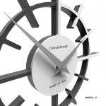Hodiny na zeď Designové hodiny 10-018 CalleaDesign Crosshair 29cm (více barevných verzí) Barva zelený cedr - 51 164794 Designové hodiny
