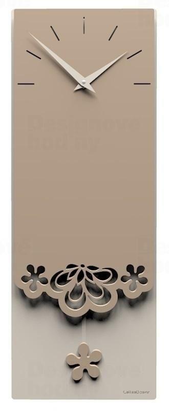 Designové hodiny 56-11-1 CalleaDesign Merletto Pendulum 59cm (více barevných verzí) Barva béžová (nejsvětlejší) - 11 164864