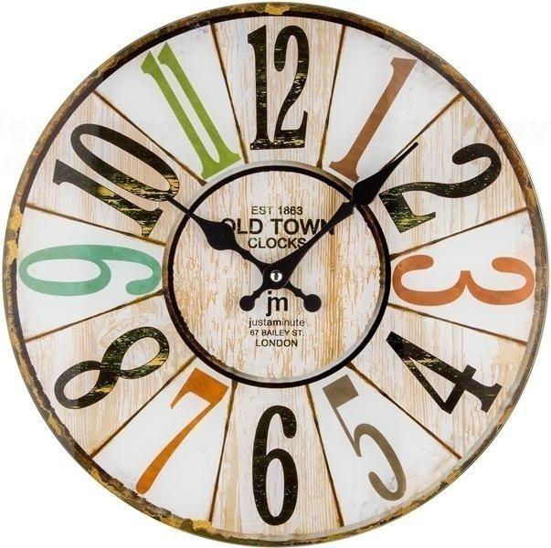 Designové nástěnné hodiny 14878 Lowell 34cm 164922 Lowell Italy Hodiny
