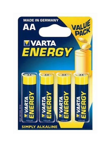 Varta Alkalické tužkové baterie VARTA Energy AA (4ks - blistr) 164985
