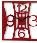 Designové hodiny D&D 377Q Meridiana 39cm Meridiana barvy kov bílý lak 165244