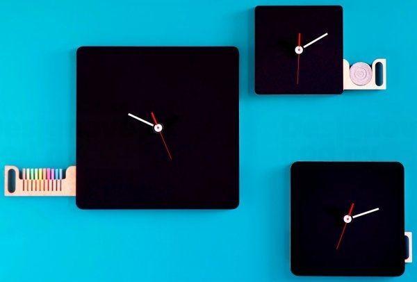 Diamantini&Domeniconi Designové hodiny Diamantini a Domeniconi Tabla 33x33cm 165241