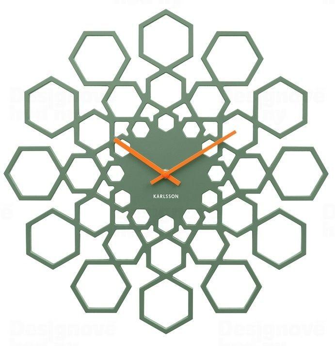 Designové nástěnné hodiny 5639GR Karlsson 48cm 165348