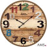 Designové nástěnné hodiny AMS 9539 165130