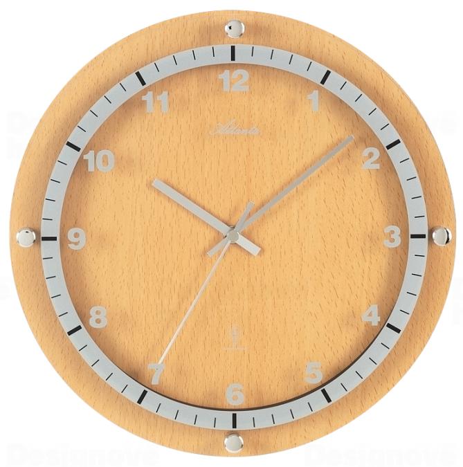 Atlanta Designové nástěnné hodiny AT4284-30 řízené signálem DCF 164956