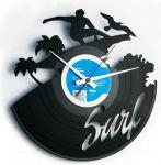 Designové nástěnné hodiny Discoclock 095 Surfař 30cm 165392