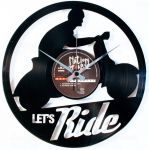 Designové nástěnné hodiny Discoclock 101 Let's ride 30cm 165367