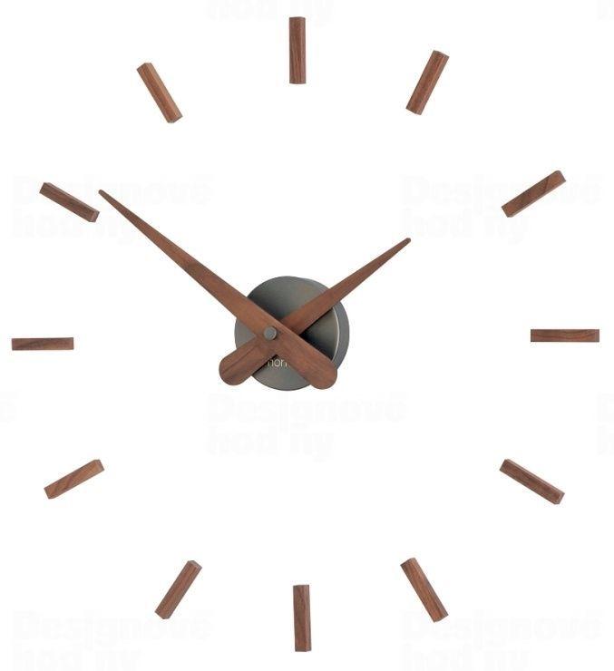 Designové nástěnné hodiny Nomon Sunset Graphite 50cm 165374