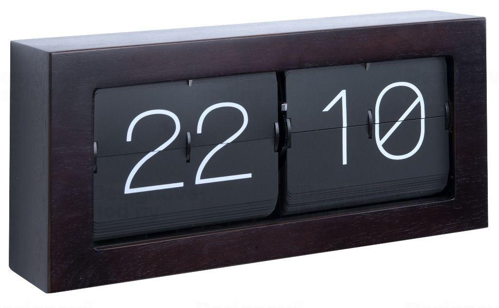 Designové nástěnné/stolní překlápěcí hodiny 5642DW Karlsson 37cm 165357